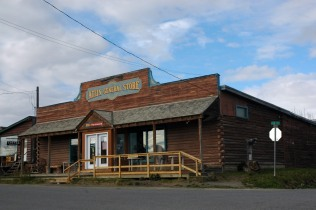 Downtown shopping opportunities in Atlin are quite limited.