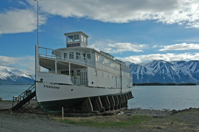 This preserved ferry used to ferry miners to and from Alaska.