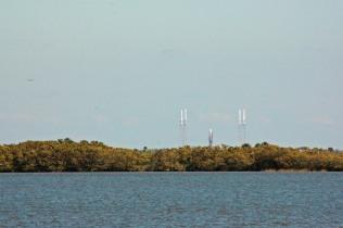 Atlas rocket sitting on pad
