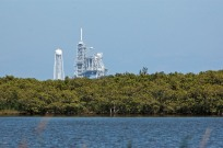 Man left for the moon from this spot - this is Saturn V Launch Pad 39B