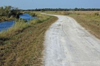 the road less travelled...if you're a Canadian, and you spy an unmarked gravel road in Florida, TAKE IT!