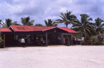 Airport terminal, Atiu, Cook Islands, November 2000. © Andrew A Bryant