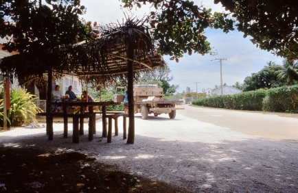 Teenui Village, Atiu, Cook Islands, November 2000. © Andrew A Bryant