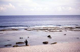 Local fisherman at Atiu, Cook Islands, November 2000. © Andrew A Bryant