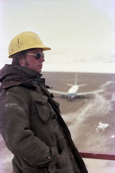 This end up - Andrew Bryant at Resolute Bay, NWT, 1979