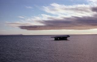 Sea ice, Resolute, NWT, 1979