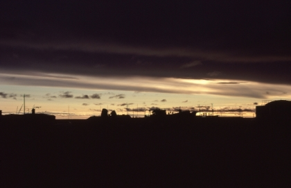 Skyline at Resolute Bay, NWT, 1979