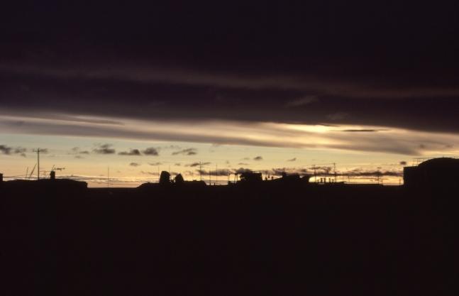 Skyline at Resolute Bay, NWT, 1979