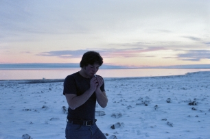 Andrew Bryant at Resolute Bay, 1979